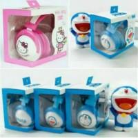 handset bando karakter hello Kitty & Doraemon