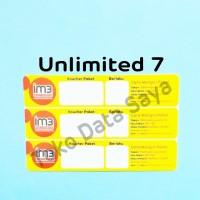 Voucher Kuota Data Indosat Unlimited 7