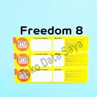 Voucher Kuota Data Indosat Freedom 8