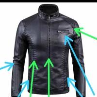 jaket kulit asli jaket kulit domba jaket kulit super jaket pria