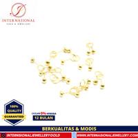 Anting Emas Kuning Asli INTERNATIONAL Original AMK toge anak