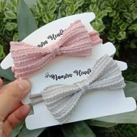 Headband Baby Nylon USA / headband baby korean bow
