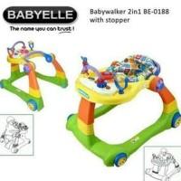 Baby Walker Baby Elle Babyelle 2 in 1 BE0188 BabyWalker - green