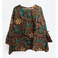 Promo/ Sale Top batik cewek jumbo size/ atasan blouse batik jumbo size