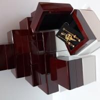 kotak anting liontin (E.7)