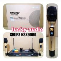 Promo Mic wireless Shure KSX9000 PP high quality Anti feedback Murah