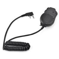 2 Handheld Dual PTT Speaker Mic untuk Baofeng UV-82 Radio Walkie