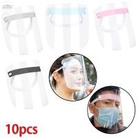 10Pcs Penutup Pelindung Mata Bahan Plastik Dapat Diatur