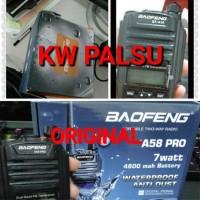 Ht Radio Ht Baofeng A58 Pro Waterproof Anti Hujan Anti Air Handy Talky