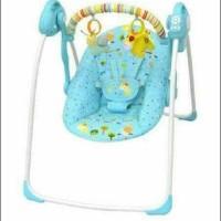 Stok Ready Baby Elle Portable Swing Bouncher Ayunan Bayi Electrik -