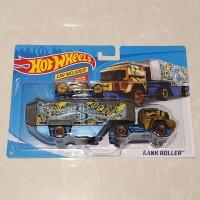 hot wheels bank roller grey gold