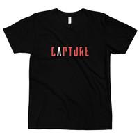 Kaos Distro Premium Lengan Pendek Capture Photographer T-Shirt