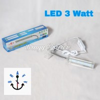 Lampu LED Aquascape Aquarium Yamano LED 3 Watt