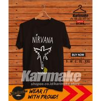 Kaos Baju Band Nirvana In Utero Kaos Musik - Karimake
