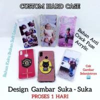 Custom Case Foto Suka-Suka Anti Crack Fiber All Type Hp