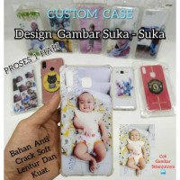 Custome Case Foto Suka-Suka Anti Crack Soft All Type Hp