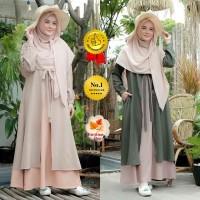 Mufida Dress| Gamis Muslim Terpopuler |Gamis Modern | Gamis Remaja