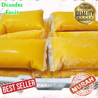 GROSIR MURAH 1kg Buah Beku Mangga Harum Manis Frozen Mango Pure Puree