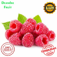 PROMO MURAH 1/2kg Raspberry Import Frozen Buah Beku Raspberry Import