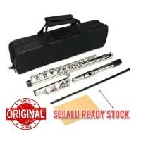 seruling flute nickel key c flute lade jazzie pro/jazziepro/suling