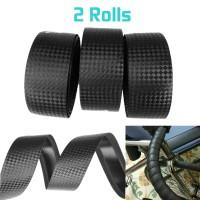 Hand Grip Bar Tape Sepeda 2Roll - Hitam