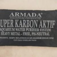 ARMADA Karbon Aktif Filter Aquarium Akuarium Arang