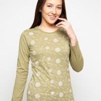 Baju wanita branded matahari T Zone Nevada T-Shirt Flower Print Slim