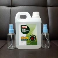 Ready Paket Eko Hand Sanitizer 1000ml + 2 Botol Spray 75