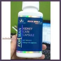 Terbaru Kidney Care Capsule For Man Green World/Obat Ginjal Pria/Sakit