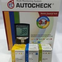 Alat cek gula darah 3 in 1 Autocheck