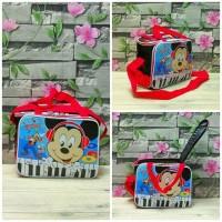 Travelbag mini mickey mouse/tas anak/tas karakter/tas bekal/diaperbag