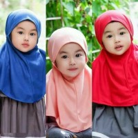 Kerudung BERGO ANAK/jilbab BERGO ANAK/ kerudung bayi/jilbab anak murah