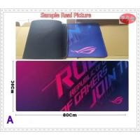 Mouse Pad Asus ROG Original Quality Mousepad Gaming Besar Lebar Keren