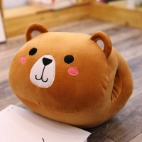 Boneka Bantal Penghangat Tangan Bentuk Hamster/babi Lucu Bahan Plush