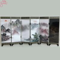 Pembatas Ruangan Model Lipat Ukuran Mini Gaya Orientalcina Untuk