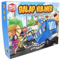 Board Game Indonesia BOARDGAME BALAP KULINER Seru Game Cafe Family