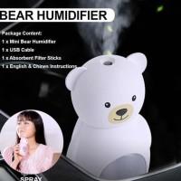 Mini Bear Humidifier Aroma Difusser Air Portable Aroma Theraphy -