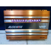 Dijual power audiobose v12 4 channel 8000 watt baru Murah