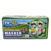 Masker Fit-U-Mask Surgical Serbaguna/Multifungsi 50 pcs