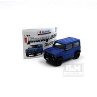 Suzuki Jimny JB64 Blue AOSHIMA New
