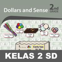 Dollar Sense Buku Keterampilan Aktivitas Kelas 2 SD Belajar Matematika