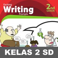 Exciting Writing Buku Keterampilan Aktivitas Kelas 2 SD Menulis Baca