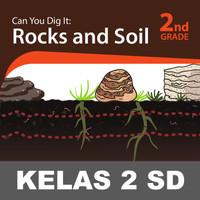 Rocks and Soil Buku Keterampilan Aktivitas Kelas 2 SD Belajar Membaca