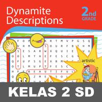 Dynamite Descriptions Buku Keterampilan Aktivitas Kelas 2 SD Menulis