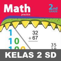 Math Practice Buku Keterampilan Aktivitas Kelas 2 SD Matematika - Isi Hitam Putih