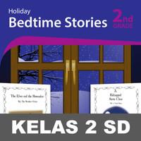 Holiday Stories Buku Keterampilan Aktivitas Kelas 2 SD Membaca Menulis