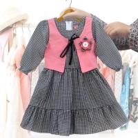 Two Mix Dress Anak / Baju Anak Perempuan / Pakaian Anak Wanita 2981