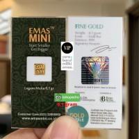 Logam Mulia LM 0,1 gram / 0,1 gr Emas Mini Antam