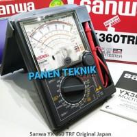 MULTITESTER SANWA YX360TRF AVOMETER ANALOG MULTIMETER YX 360 TRF
