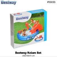 Kolam Renang Anak BESTWAY Viking Ular Play Pool Uk. 203 x 176 x 73cm